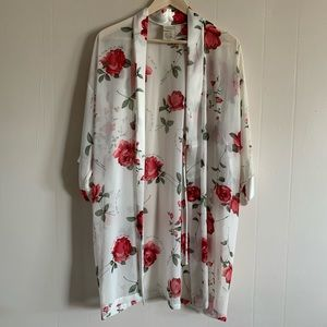 Sophia by Delicates Floral Kimono